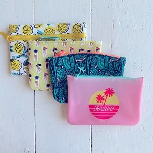 NEW! ipsy Glam Cosmetic Bags - Set of Four!